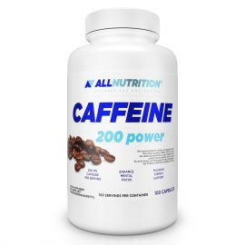 Caffeine 200 mg ALLNUTRITION 100 caps Stimulation & Endurance