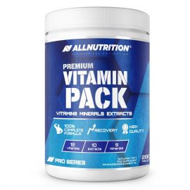 Premium Vitamin Pack Allnutrition 280 tab 12 Vitamins 9 Minerals 10 Extracts
