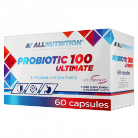 Allnutrition Probiotic 100 Ultimate 60 caps 60 Billion Live Cultures